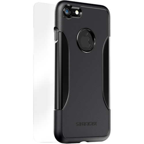 Sahara Case Classic Protective Kit for iPhone 7 and 8 (Black Scorpion)