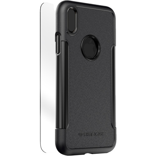 Sahara Case Classic Protective Kit for iPhone X/Xs (Black)