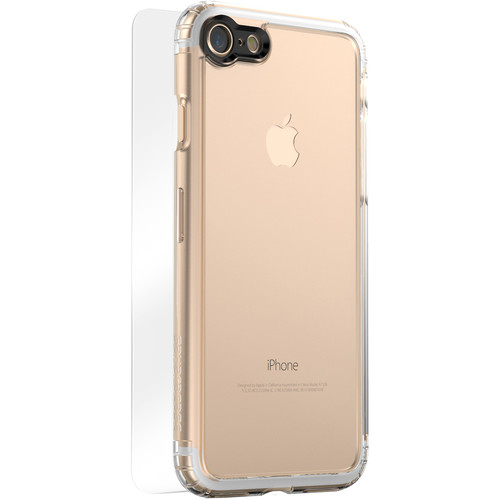 Sahara Case Clear Protection Kit for iPhone 7 and 8 (Crystal Clear)