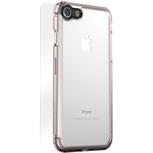 Sahara Case Clear Protection Kit for iPhone 7 and 8 (Rose Gold)