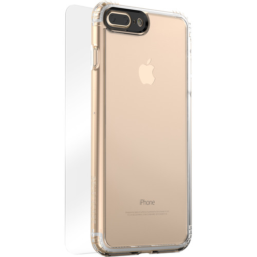 Sahara Case Clear Protection Kit for iPhone 7 Plus and 8 Plus (Crystal Clear)
