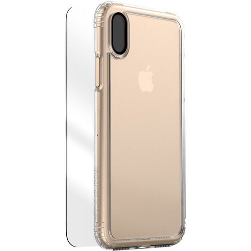 Sahara Case Clear Protection Kit for iPhone X (Crystal Clear)