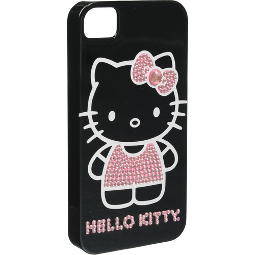 Sakar Hello Kitty Bling Case for iPhone 4S (Black)