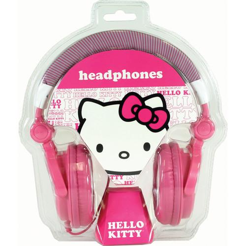 Sakar Hello Kitty Mixer Style DJ Headphones (Pink)