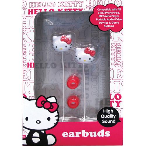 Sakar Hello Kitty Molded Ear Buds
