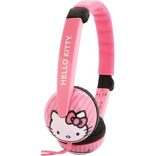 Sakar Hello Kitty Volume Control Headphones (Pink)