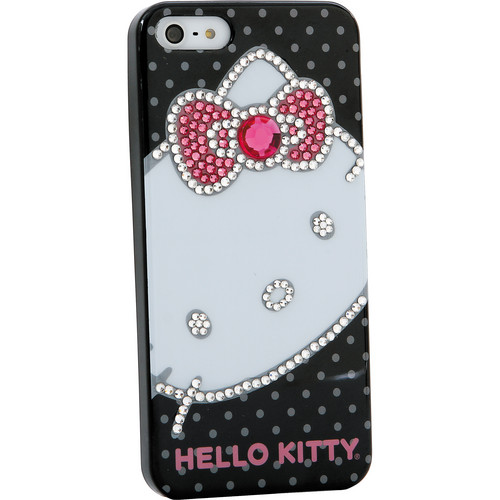 Sakar Hello Kitty Bling Pink Bow Case for iPhone 5