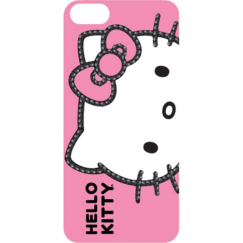 Sakar Hello Kitty Bling Outlined Case for iPhone 5 (Pink)