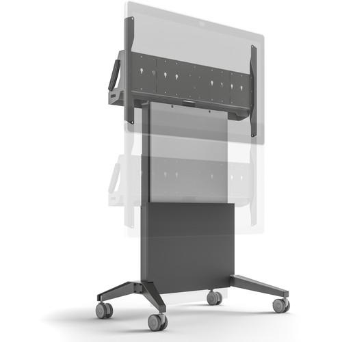 Salamander Design Electric Lift Mobile Display Stand for Cisco Spark Board