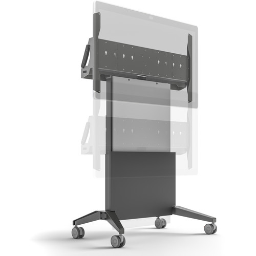 Salamander Designs Electric Lift Mobile Display Stand for Cisco Spark Board