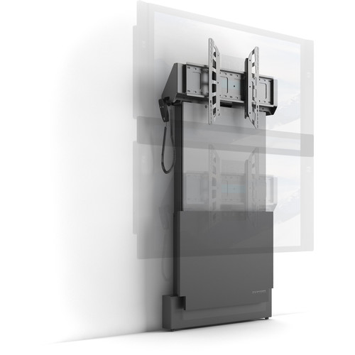 """Salamander Design Large Electric Lift Wall Display Stand for Displays Up to 90"""""""