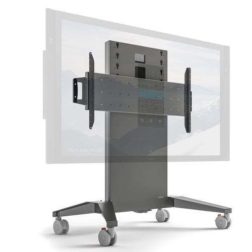 "Salamander Designs X-Large Fixed-Height Mobile Display Stand for Up to 90"" Displays"