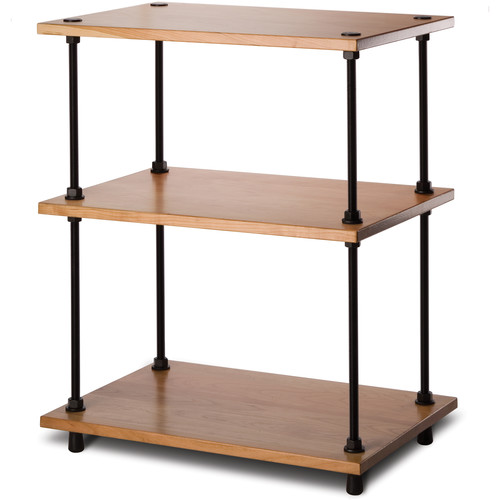 "Salamander Designs Archetype System Modular Shelving Audio Stand (28"", Natural Cherry)"