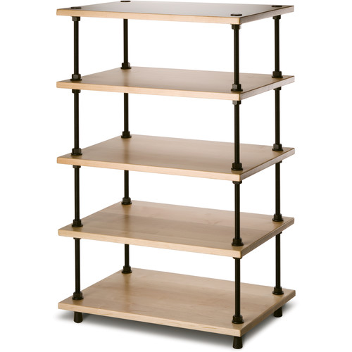 "Salamander Designs Archetype System Modular Shelving Audio Stand (36"", Natural Maple)"