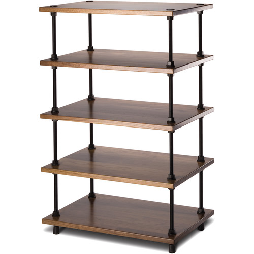 "Salamander Designs Archetype System Modular Shelving Audio Stand (36"", Natural Walnut)"