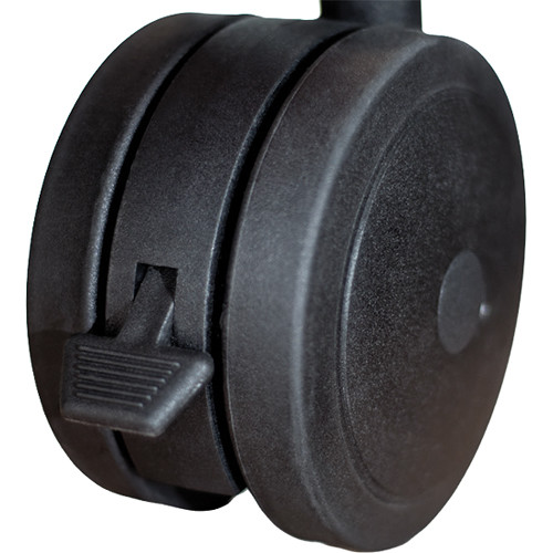 Salamander Design Dual Wheel Casters for Archetype Shelving System (Set of 4)
