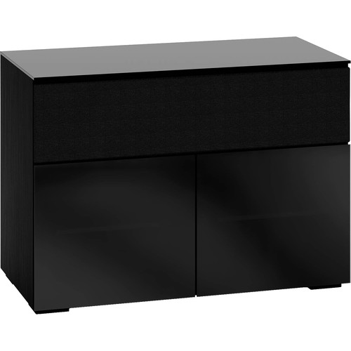 Salamander Designs Chameleon Collection Oslo 329 A/V Cabinet (Black Glass)