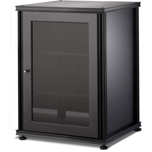 SALAMANDER DESIGNS Synergy 303 Single-Door AV Cabinet (Black)