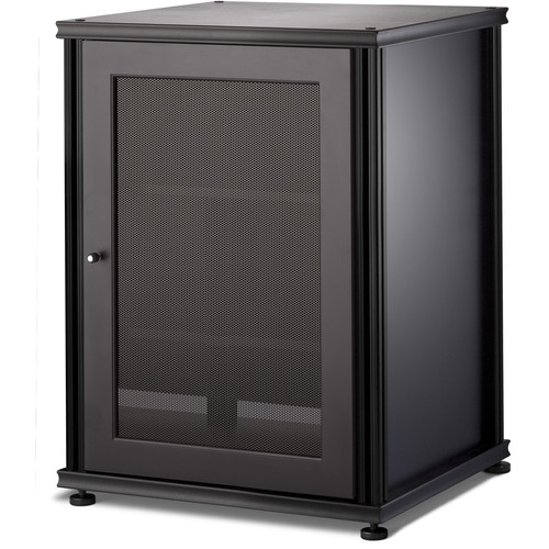 Salamander Designs Synergy 303 Single-Door AV Cabinet (Black)