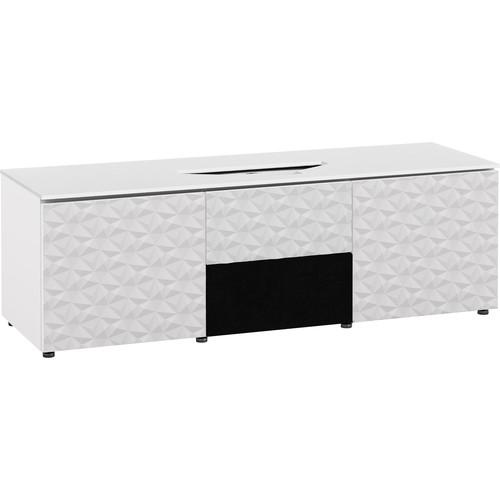 Salamander Designs Milan 236 Cabinet for Integrated Vivitek 763,765,768 Projectors (White/White Top)