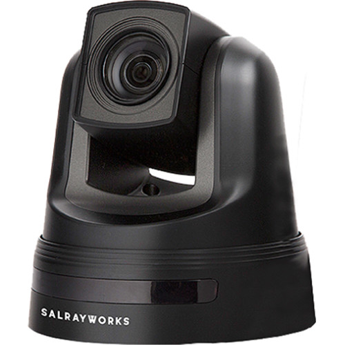 SalrayWorks 1/2.8'' Exmor R CMOS Sensor PTZ Camera (Optical Zoom: 20x / Digital Zoom: 12x, Black)