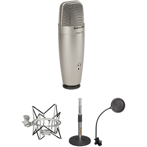 Samson C01U Pro USB Mic and Tabletop Stand Kit