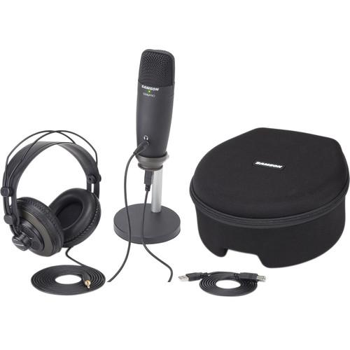 Samson C01U Pro Podcasting Pack (Black)