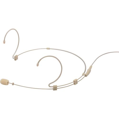 Samson DE10x Omnidirectional Miniature Headset Microphone for Wireless Transmitters (Beige)