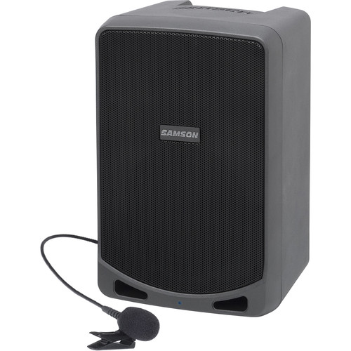 Samson Expedition XP106WLM Portable PA System with Lavalier Mic Wireless System and Bluetooth