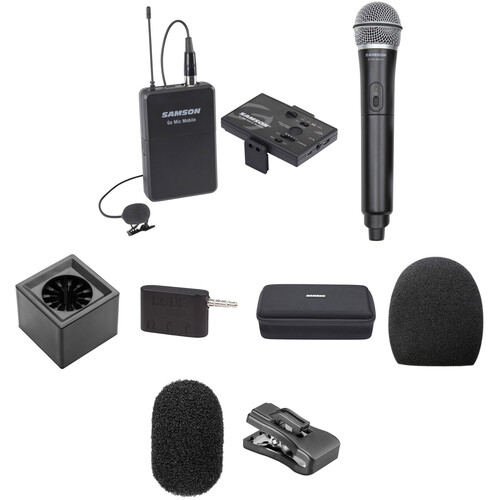 Samson Go Mic Mobile Dual Channel Combo System Kit