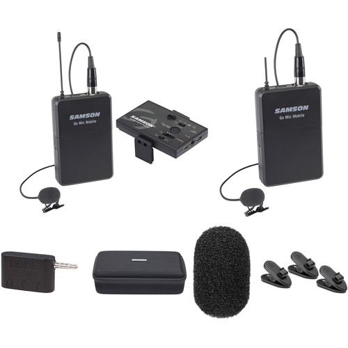 Samson Go Mic Mobile Dual Channel Lavalier System Kit
