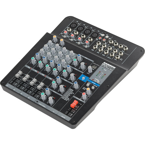 Samson MIXPAD MXP124FX Analog Stereo Mixer with Effects and USB