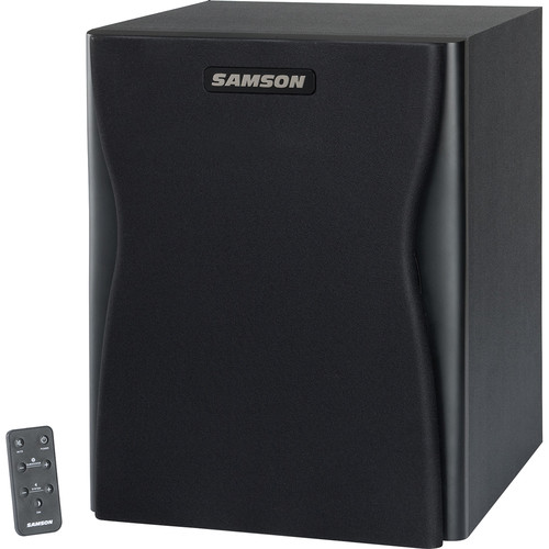 Samson Resolv RXA10S Active Studio Subwoofer with Remote Control