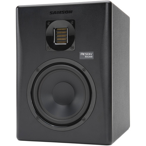 "Samson Resolv RXA6 - 100W 6"" Two-Way Active Studio Reference Monitor (Single)"