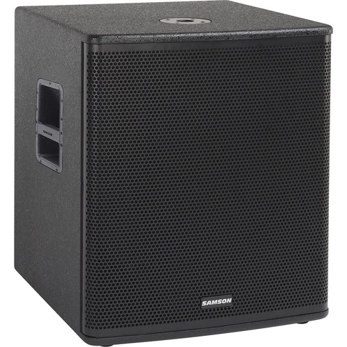 "Samson RSX18A 2000W 18"" Powered Subwoofer (Black)"