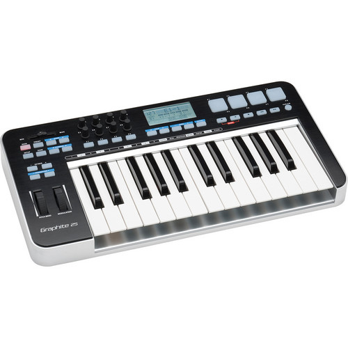 Samson Graphite 25 - USB MIDI Keyboard Controller with Trigger Pads