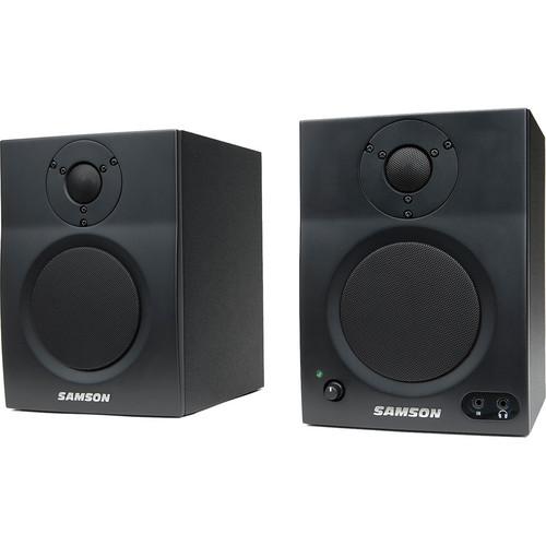 "Samson MediaOne BT4 Two-Way Active 4"" Bluetooth Monitors (Pair)"