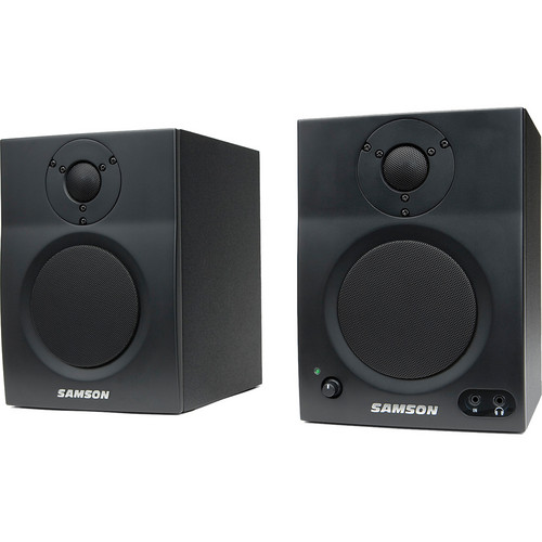 "Samson MediaOne BT4 Two-Way Active 4"" Bluetooth Monitors (Pair)"