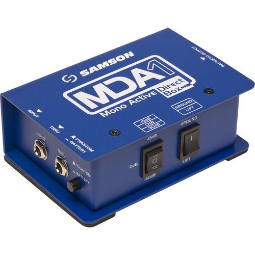 Samson S-MAX MDA1 Single-Channel Active Direct Box