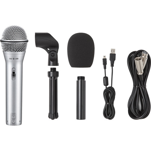 Samson Q2U Recording & Podcasting Pack (Silver)