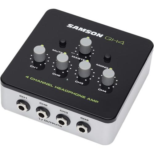 Samson QH4 4-Channel Headphone Amplifier