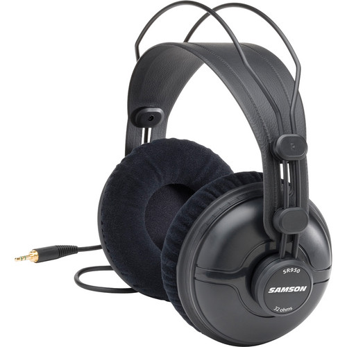 Samson SR950 Professional Studio Reference Closed-Back Headphones