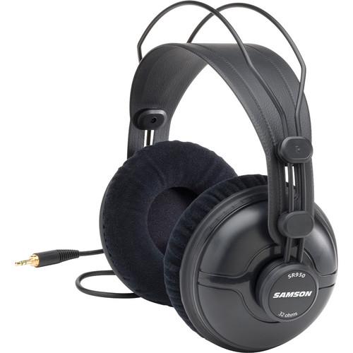 Samson SR950 Professional Studio Reference Closed-Back Headphones