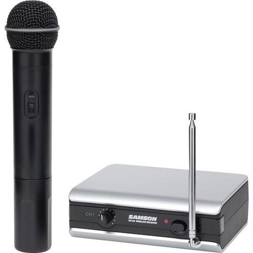 Samson Stage 166 Handheld VHF Wireless Microphone System (199.6 MHz)