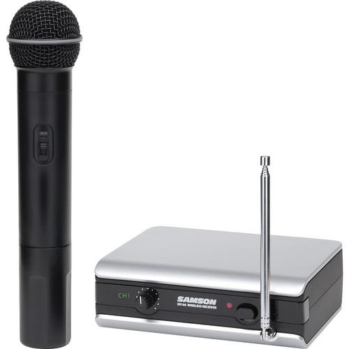 Samson Stage 166 Handheld VHF Wireless Microphone System (212.2 MHz)