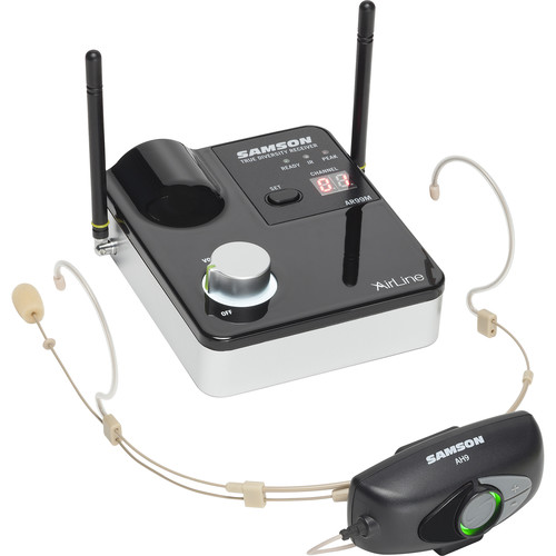 Samson AirLine 99m AH9 Wireless UHF Headset System (K: 470 to 494 MHz)