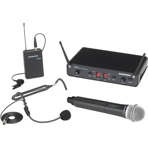 Samson Concert 288 All-In-One Dual-Channel Wireless System (H-Band, 470 to 518 MHz)