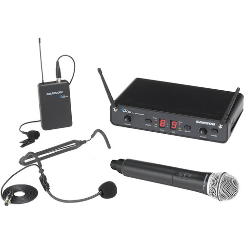 Samson Concert 288 All-In-One Dual-Channel Wireless System (I-Band, 518 to 566 MHz)