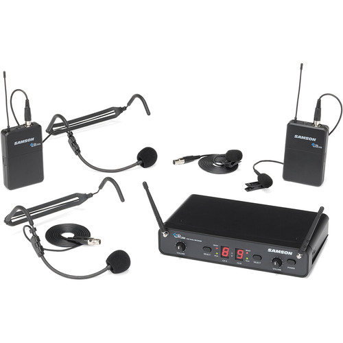 Samson Concert 288 Presentation Dual-Channel Wireless System (H-Band, 470 to 518 MHz)
