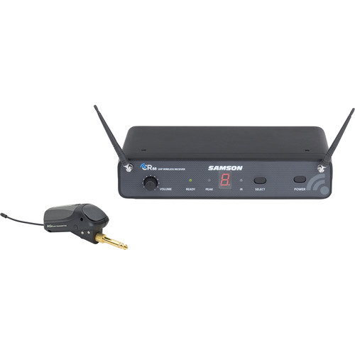 Samson AirLine 88 UHF Wireless System for Guitar (D Band)